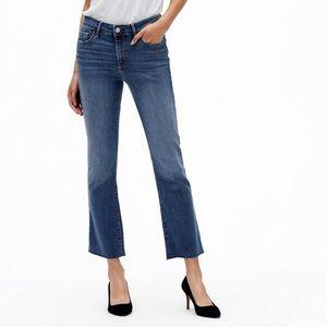 GAP side slit Capri jeans 100% cotton Sz 12